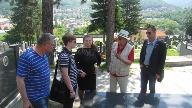 Куряне побывали в сербском городе Ужице